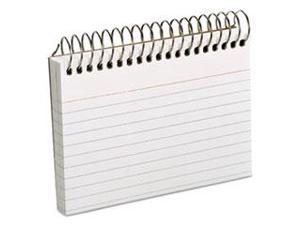Spiral Index Cards 3 x 5 50 Cards White