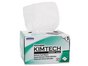 Kimtech Science Kimwipes, Delicate Task Wipers, 4 2/5 X 8 2/5, 280/Box