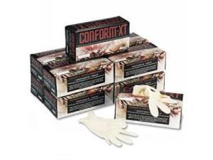 XT Premium Latex Disposable Gloves, Powder-Free, Medium