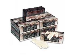 XT Premium Latex Disposable Gloves, Powder-Free, Small