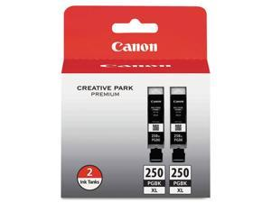 Canon Usa Pgi-250 Xl Pigment Black Ink Tanks