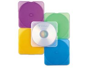 Trimpak Cd/Dvd Case, Assorted Colors, 10/Pack