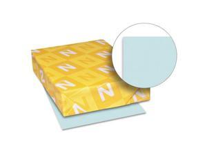 Exact Index Card Stock, 90 lbs., 8-1/2 x 11, Blue, 250 Sheets/Pack