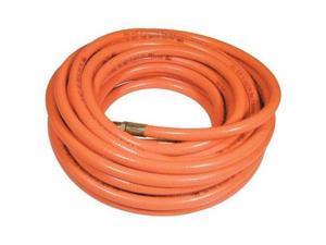 """3/8""""X50' Day Glo Orange PVC Air Hose 300 psi"""