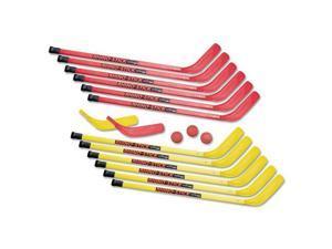 """Rhino Stick Elementary Hockey Set, 36"""", Plastic"""