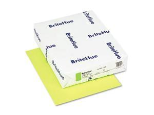 Britehue Multipurpose Colored Paper, 24Lb, 8-1/2 X 11, Ultra Lime, 500
