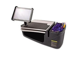 AutoExec 10004 Car Desk with Retractable Writing Surface Tablet Mount Supply