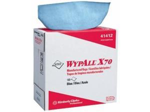 WYPALL X70 WORKHORSE RAGS BLUE 10/100