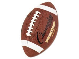 "Pro Composite Football Junior Size 20.75"" Brown"