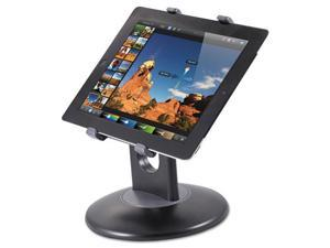 "Stand for 7"" to 10"" Tablets Swivel Base Plastic Black"