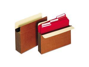 Heavy-Duty File Pockets Straight 1 Pocket Letter Redrope
