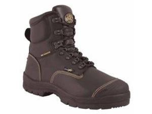 Metatarsal Guard Mining Work Boots, Size 11, 4.9 In H, Black