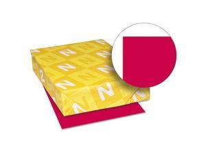 Astrobrights Colored Paper, 24lb, 8-1/2 x 11, Re-Entry Red, 500 Sheets