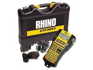 Rhino 5200 Industrial Label Maker Kit, 5 Lines, 6-1/10W X 11-2/9D X 3-