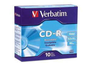 Verbatim DataLifePlus 94760 CD Recordable Media - CD-R - 52x - 700 MB