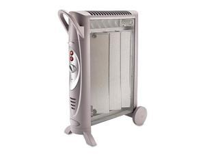 Micathermic Element 1500W Console Heater, 6w x 26-3/8d x 21-1/4h