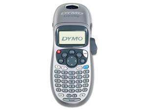 Dymo Letratag Plus Personal Label Maker, 2 Lines, 3-1/10W X 2-3/5D X 8-3/10