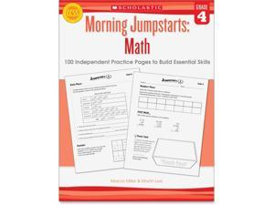 Scholastic Grade 4 Morning Jumpstart Math Workbook English