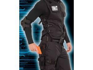 Police Detective SWAT Costume Toy Gun Leg Holster Set