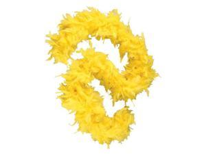 "Deluxe Large Yellow 72"" Costume Accessory Feather Boa"