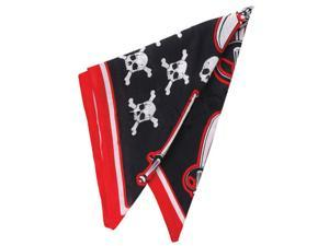 Pirate Skull & Cross Bones Costume Bandana Head Scarf