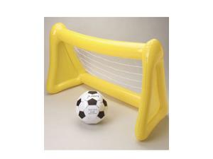 "Large 45"" Inflatable Soccer Goal Net and Ball"