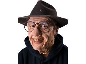 Reel FX Gramps Old Man Theater Makeup Costume Mask