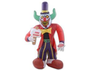 Giant 8' Inflatable Free Candy Scary Clown Halloween Decoration