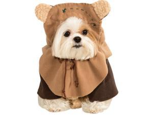Star Wars Cute Ewok Dog Pet Costumes Size Large 22""