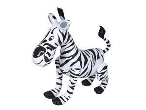 "24"" White Black Inflatable Zoo Animal Zebra Decoration"