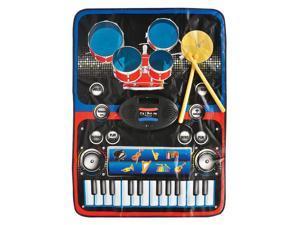 Large Working Electronic Play Mat Keyboard Drum Set Melody Synthesizer