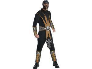 Adult Size XL 44-46 Mortal Kombat Bat-Man Scorpion Costume
