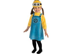 Kids Girls Child Female Minion Despicable Me Costume Infant 6-12 Month