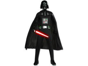 Adults Men's Classic Star Wars A New Hope Sith Lord Darth Vader Costume XL 44-46