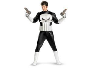Marvel Adults Mens Punisher Muscle Costume XL 42-46