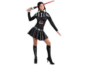 Adult Womens Star Wars Female Darth Vader Costume X-Small 2-6