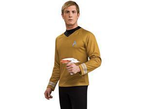 Star Trek Into Darkness Gold Captain Kirk Adult Deluxe Costume Large 42-44