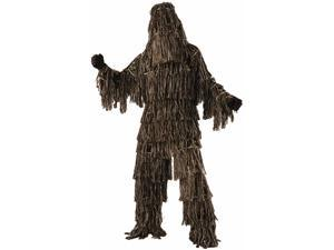 Mens Call Of Duty Ghosts Ghillie Suit Camouflage Army Costume Standard 42-44
