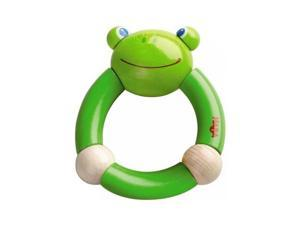 Haba Croaking Frog Clutching Toy