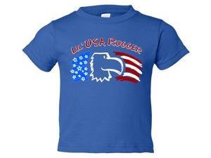 Lil' USA Rugger Kids Rugby T-Shirt - 2 Years