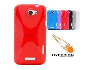 Hyperion HTC One X Matte Xtreme TPU Case Red