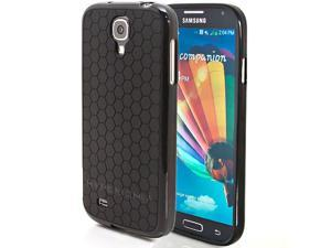 Hyperion Samsung Galaxy S4 Mini HoneyComb Matte Flexible TPU Case & Screen Protector