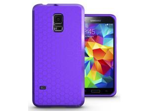 Hyperion Matte TPU Protective Case / Cover for LG Optimus G3 Cell Phone - PURPLE