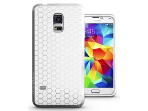 Hyperion Samsung Galaxy S5 MINI (SM-G800) Matte TPU Case / Cover - WHITE