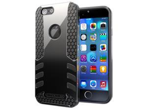 Case for Apple iPhone 6. Hyperion Titan 2-piece Premium Hybrid Protective Case / Cover for Apple iPhone 6 (4.7 inch) Model Cell Phone