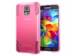 Hyperion Oracle TPU Protective Case for Samsung Galaxy S5 / SV Cell Phone - PINK