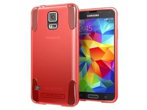 Hyperion Oracle TPU Protective Case for Samsung Galaxy S5 / SV Cell Phone - RED