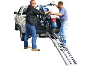 "89"" Single Aluminum Folding Motocross Off-Road Loading Ramp"