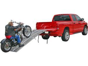 """120"""" Arched 3-Ramp Aluminum Motorcycle Loading System"""