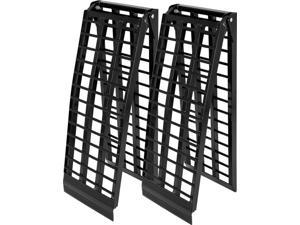 """94.5"""" Black Widow 4-Beam Extra Wide Arched Dual Runner ATV Loading Ramps"""